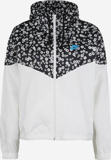 Nike Sportswear Windbreaker in schwarz / weiß, Produktansicht