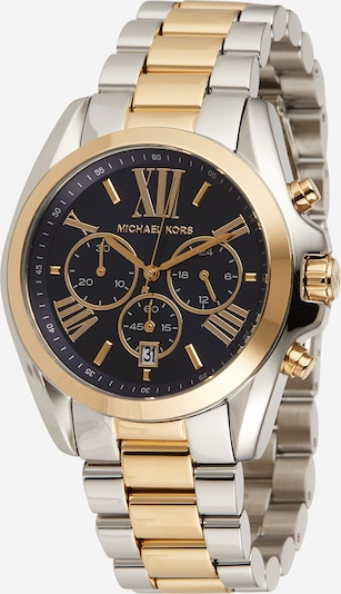 Michael Kors Analoguhr 'Chronograph' in blau / gold / silber, Produktansicht