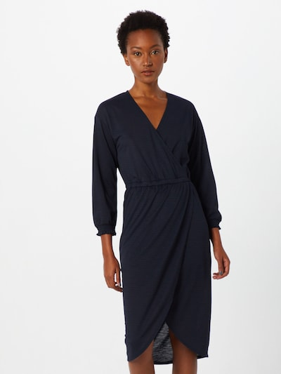 MOSS COPENHAGEN Kleid 'Adelena' in blau, Modelansicht