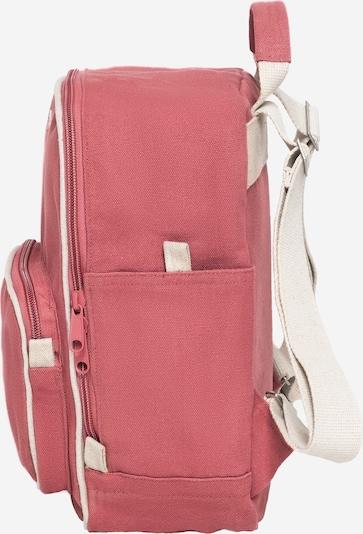 MELAWEAR Rucksack 'MELA II Mini ' in beige / rosa / rot: Draufsicht
