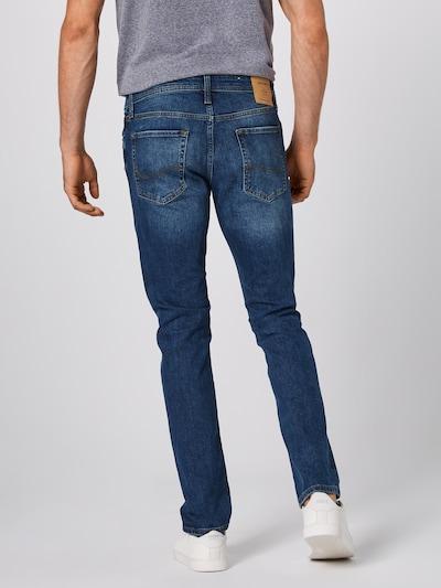 Jeans 'AM 918' JACK & JONES pe denim albastru: Privire spate