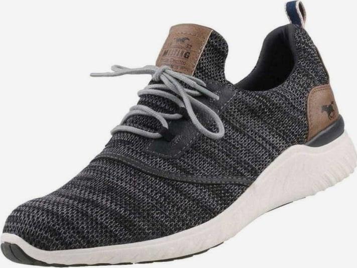 MUSTANG Sneakers laag in Bruin / Grijs / Zwart 6znr3PEQ