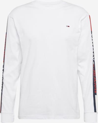 Tommy Jeans Longsleeve in weiß, Produktansicht