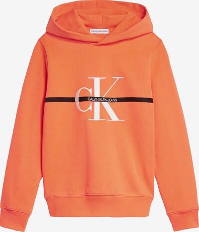 Calvin Klein Jeans Hoodie in orange, Produktansicht
