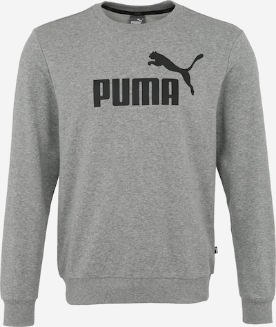 PUMA Sportsweatshirt 'Ess' in de kleur Grijs / Zwart, Productweergave