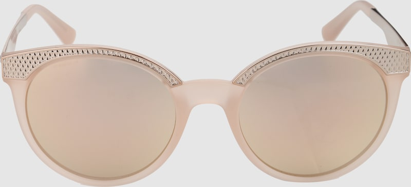 VERSACE Sonnenbrille mit Rahmen in Gold-Optik