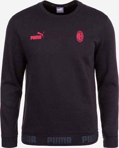 PUMA Sweatshirt 'AC Mailand FtblCulture' in melone / schwarz, Produktansicht