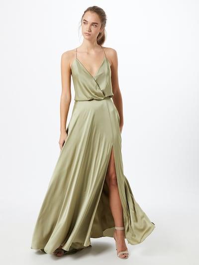 Unique Abendkleid in pastellgrün, Modelansicht
