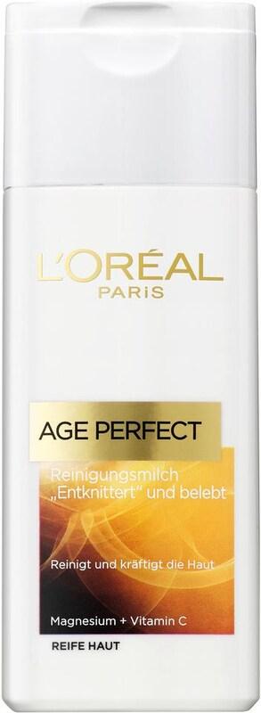 L'Oréal Paris 'Age Perfect Reinigungsmilch', Gesichtsreinigung