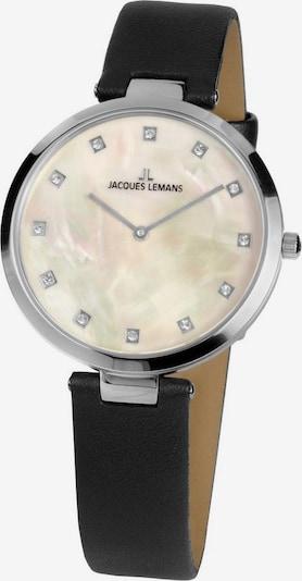 Jacques Lemans Uhr 'Milano, 1-2001A' in schwarz / silber, Produktansicht