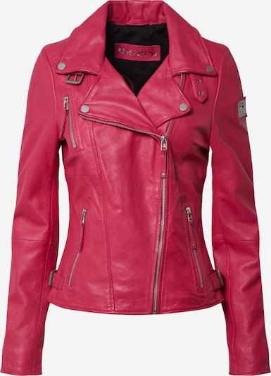 FREAKY NATION Lederjacke 'Bikerprincess' in pink, Produktansicht