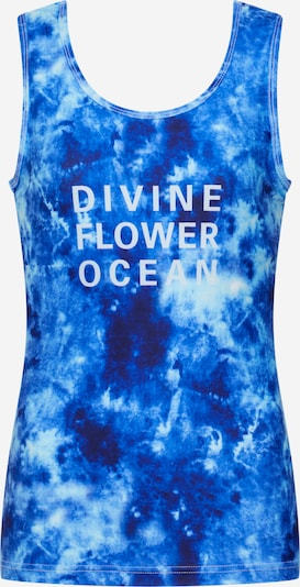 Divine Flower Sports top 'Lilaia' in blue, Item view