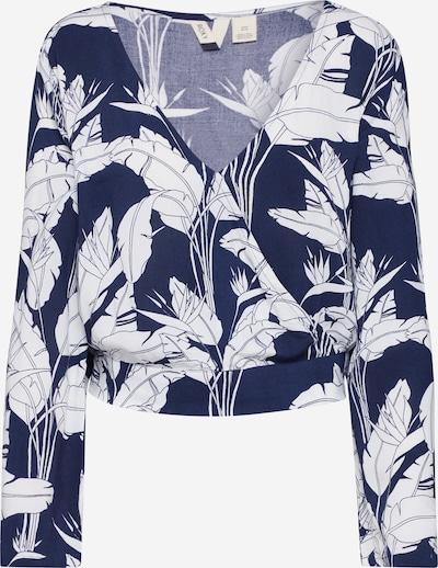 ROXY Bluse 'LIKE GOLD' in navy / weiß, Produktansicht