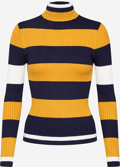 ONLY Sweater 'Korol' in Night blue / Yellow / White, Item view