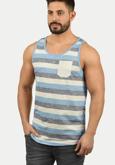 !Solid Tanktop 'Whicco' in blau: Frontalansicht