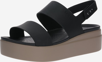 Crocs Sandaal 'Brooklyn Low Wedge W' in de kleur Zwart, Productweergave