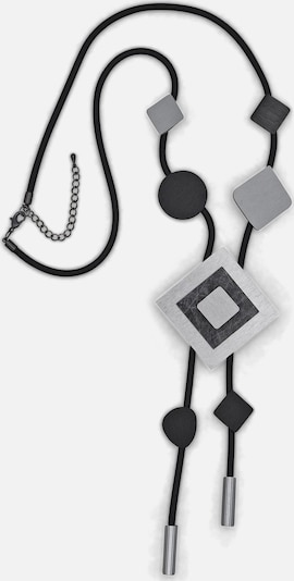 J. Jayz Kette in schwarz / silber, Produktansicht