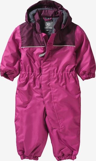 COLOR KIDS Schneeanzug 'KOMBI' in pink, Produktansicht