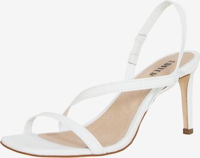 Sandalai 'Mele' iš EDITED , spalva - balta, Prekių apžvalga