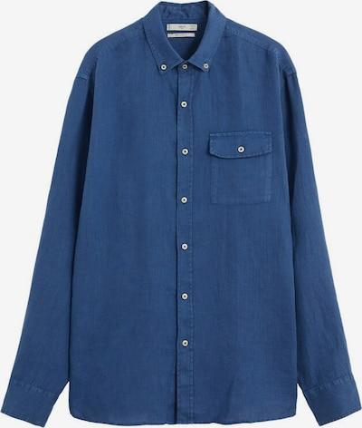 MANGO MAN Overhemd in de kleur Navy, Productweergave