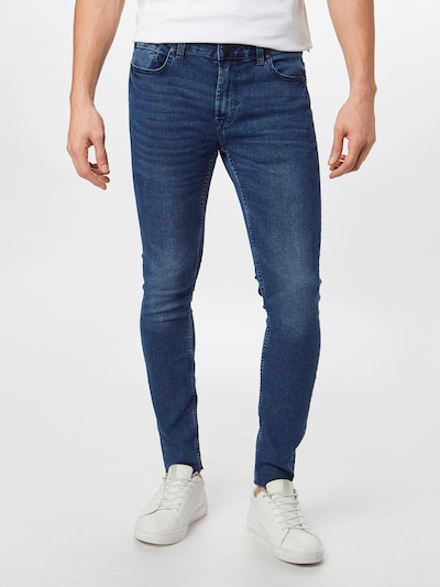 Only & Sons Jeans 'WARP SKINNY BLUE CROP PK4888' in blue denim, Modelansicht