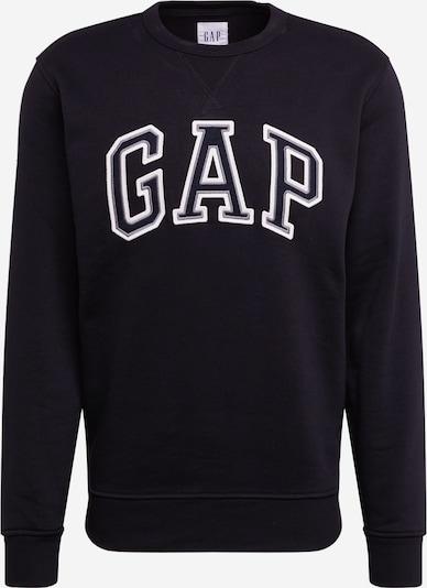 GAP Sweatshirt 'ARCH CREW' in schwarz / weiß, Produktansicht