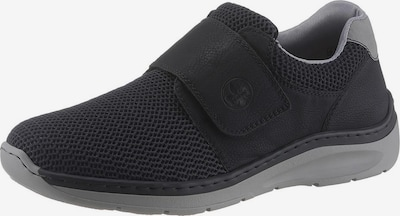 RIEKER Slipper in grau / schwarz, Produktansicht