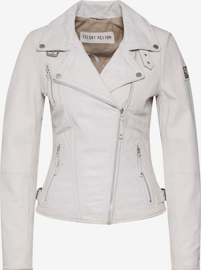 FREAKY NATION Lederjacke 'BikerPrincess' in weiß, Produktansicht