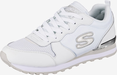 Sneaker low SKECHERS pe argintiu / offwhite, Vizualizare produs