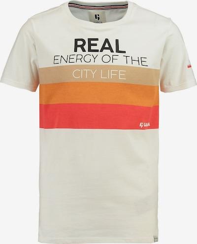 GARCIA T-Shirt en orange / rouge / noir / blanc, Vue avec produit