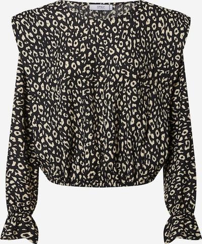 ONLY Bluse 'ZILLE' in beige / schwarz, Produktansicht