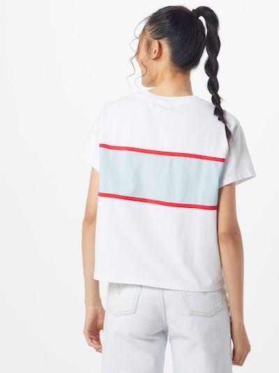 LEVI'S Shirt 'CAMERON' in de kleur Blauw / Wit: Achteraanzicht