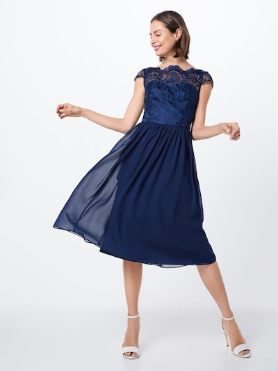 Chi Chi London Kleid 'Chi Chi Lilou' in navy, Modelansicht
