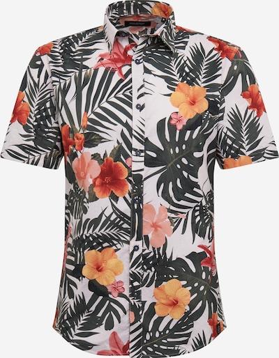 SHINE ORIGINAL Košeľa - tmavozelená / ružová / biela, Produkt