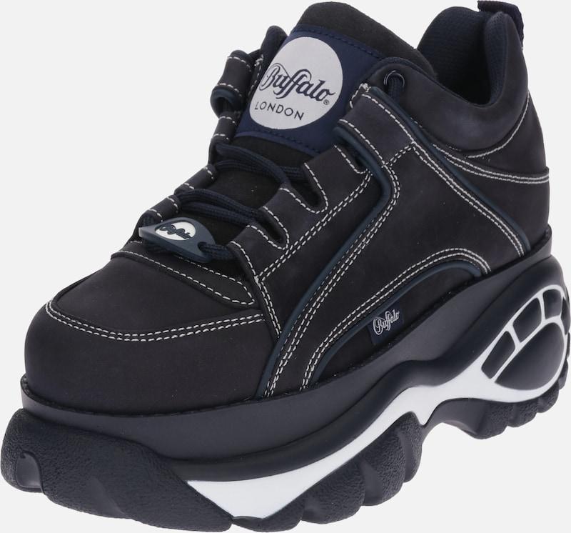 Sneaker Low Für Herren Schwarz Buffalo London Sneaker Mit