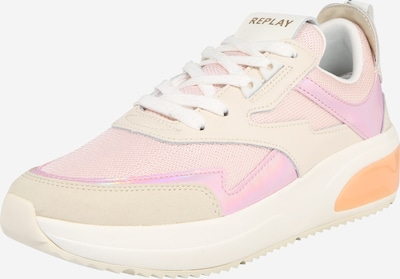 REPLAY Sneaker in beige / pink, Produktansicht
