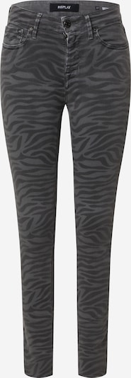REPLAY Jeans 'LUZIEN' in de kleur Grijs / Donkergrijs, Productweergave
