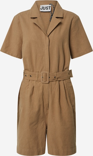 JUST FEMALE Damen - Overalls 'Cenia playsuit' in sand, Produktansicht