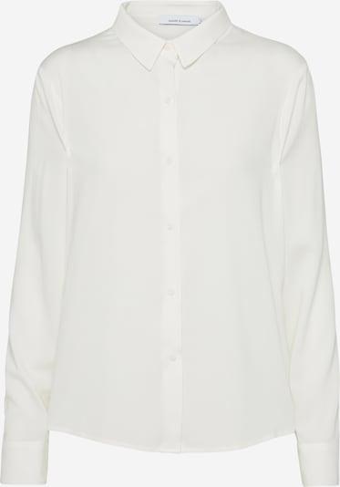 Samsoe Samsoe Blouse 'Milly' in de kleur Wit, Productweergave