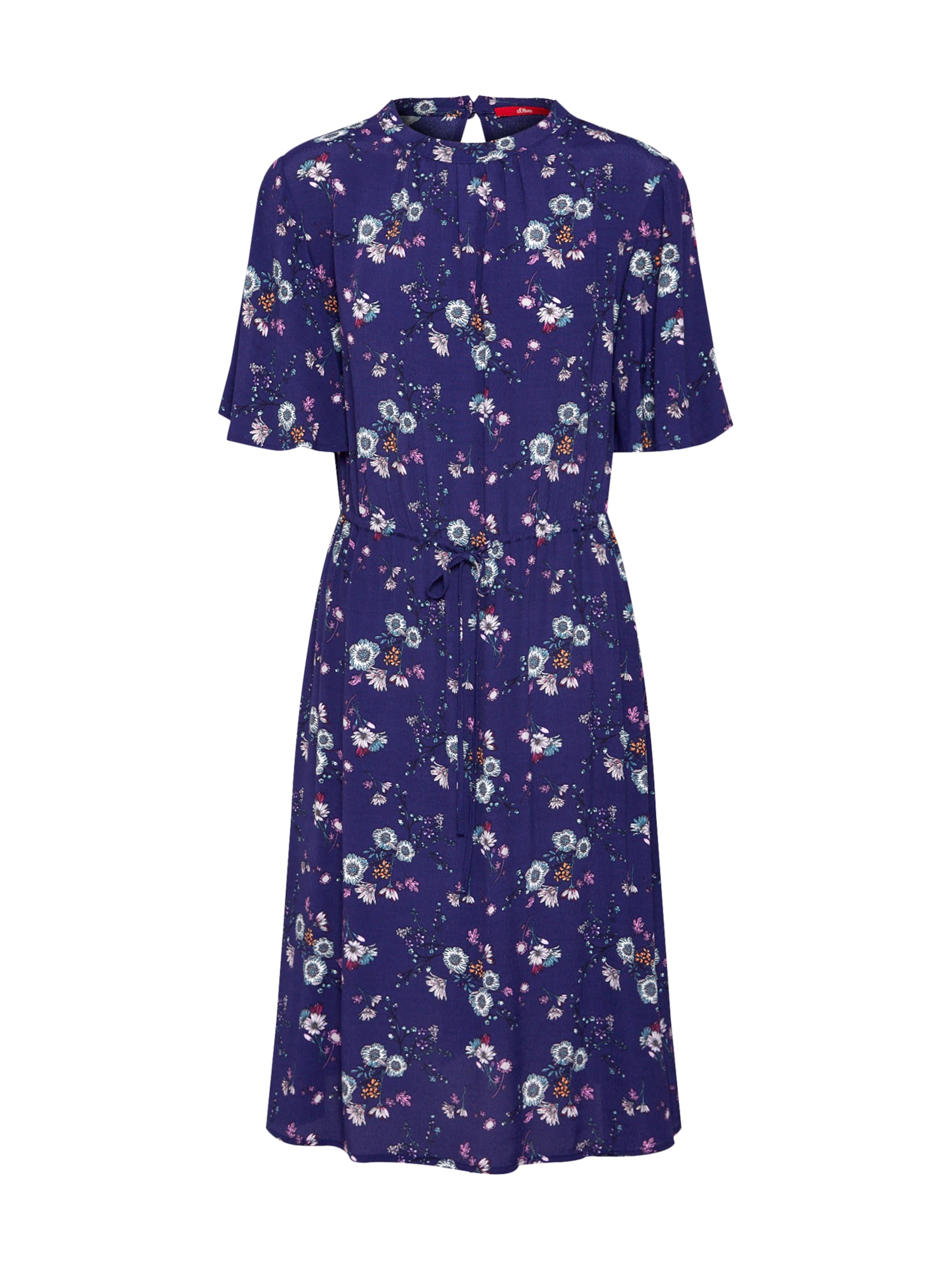 Red BlauMischfarben Kleid oliver In S Label qUjSzMpGLV