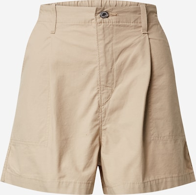 LEVI'S Shorts 'PLEATED UTILITY SHORT' in beige, Produktansicht