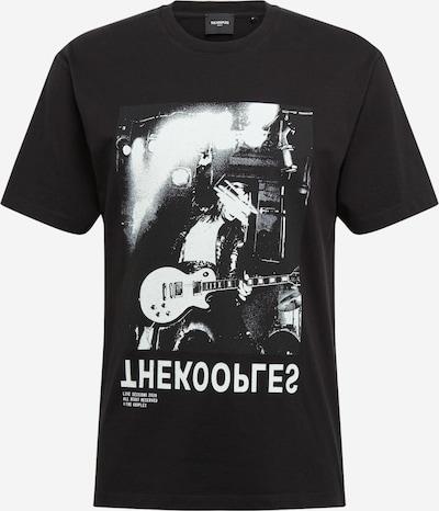 The Kooples T-Shirt en noir, Vue avec produit