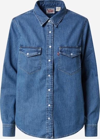 LEVI'S Jeansbluse 'Essential Western' in blue denim, Produktansicht