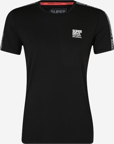 Superdry Functioneel shirt in de kleur Zwart, Productweergave