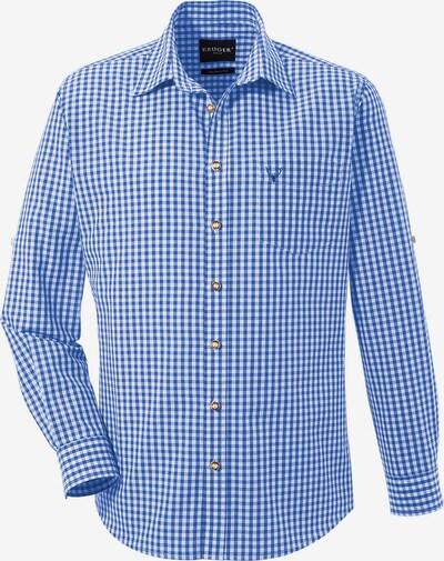 Krüger Buam Trachtenhemd in hellblau / weiß, Produktansicht
