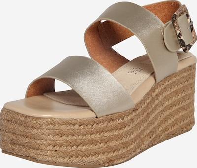 MTNG Sandalen 'OBI' in sand / gold, Produktansicht
