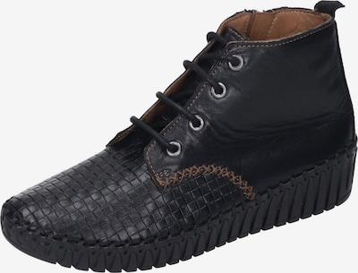 MANITU Stiefelette in schwarz, Produktansicht