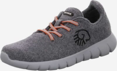 GIESSWEIN Schnürschuhe in grau / dunkelgrau / hellpink, Produktansicht