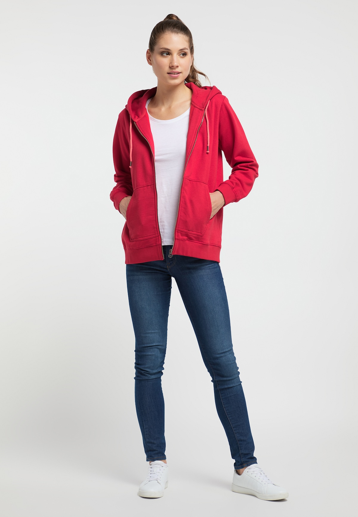 Beliebt Frauen Bekleidung Petrol Industries Petrol Industries WOMEN Sweatjacke in rot Zum Verkauf