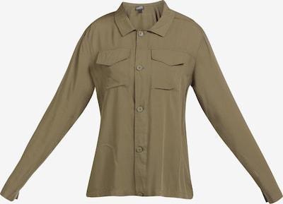DREIMASTER Bluse in oliv, Produktansicht